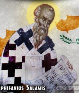 Santo Ephifanius Salamis/ Ilustrasi