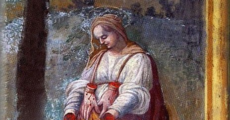 19 Januari, Santa Martha dari Persia, Beata Christina Ciccarelli, katekese, katolik, Komsos KWI, Konferensi Waligereja Indonesia, KWI, Para Kudus di Surga, putera allah, santo santa, Sukacita, teladan kita