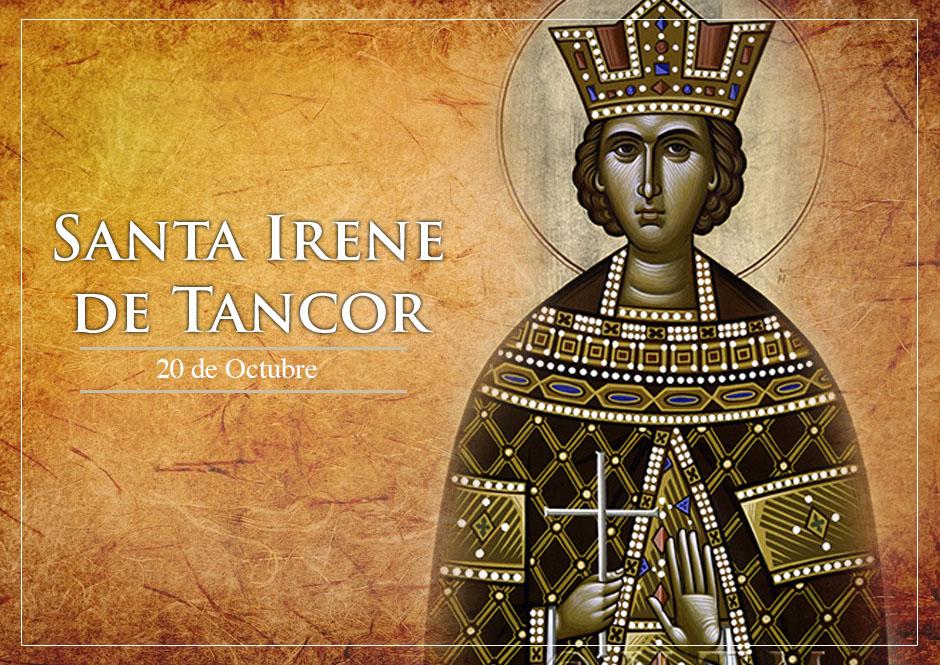 20 Oktober, katekese, Komsos KWI, Konferensi Waligereja Indonesia, KWI, Para Kudus di Surga, Santa Irenes , santo santa, teladan kita