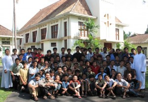 Para seminaris di Seminari Menengah Mertoyudan, Magelang