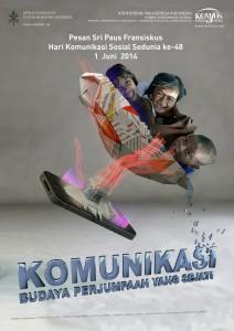 Poster hari komunikasi sosial sedunia ke - 48/ Komsos KWI