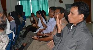 Biarawan-biarawati dan Guru Agama mengikuti Pelatihan Public Speaking