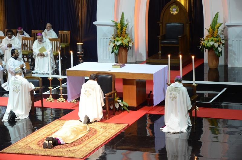 Keterangan foto: Pentahbisan Uskup Bandung, Senin 25 Agustus 2014