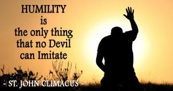 Humility - St John Climacus KWI