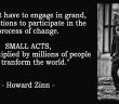 KWI Small Acts - Howard Zinn