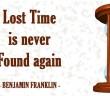 Lost Time - Benjamin Franklin - KWI