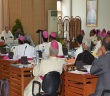 Suasana Sidang Tahunan para Uskup di Hari pertama, (foto Komsos KWI)