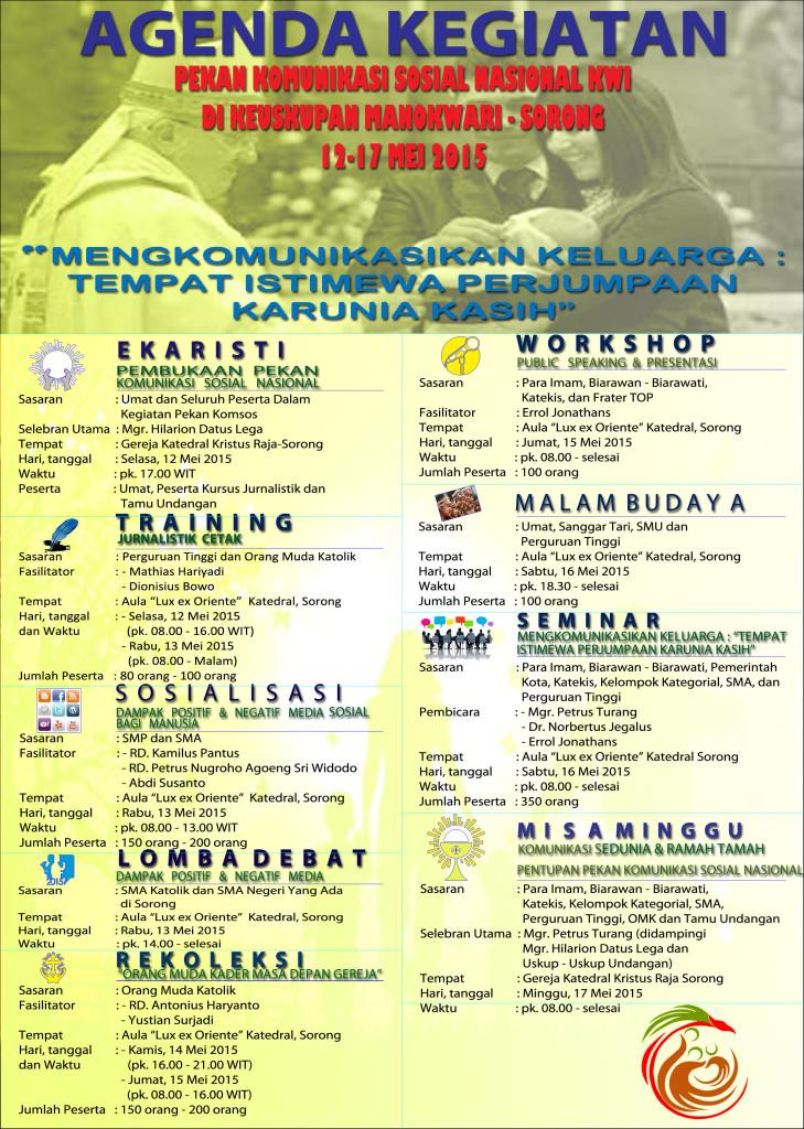 Agenda Pekan Komsos Nasional KWI