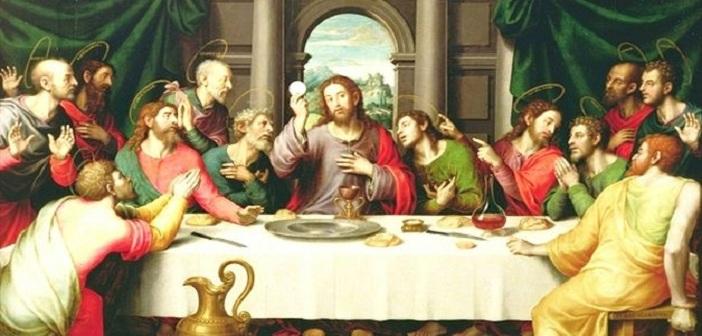 Credit Foto:Yesus merayakan perjamuan bersama para Murid-Nya, baltyra.com