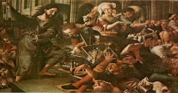 Credit Photo: Dengan kuasa apakah Ia bertindak mengusir para pedagang di Bait Allah, www.devoir-de-philosophie.com