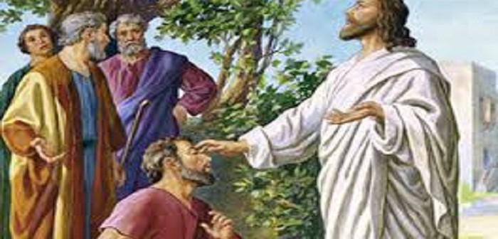 Bartimeus meminta kesembuhan pada Yesus, www.sesawi.net