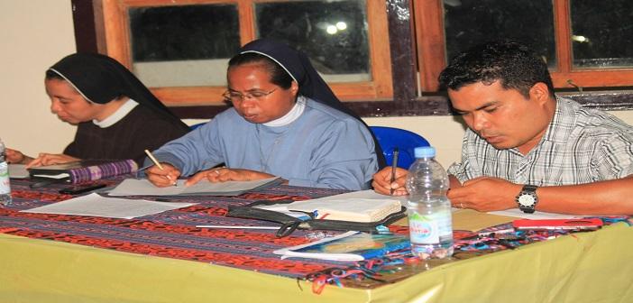Para juri Lomba Kitab Suci di Paroki Katedral, Keuskupan Atambua