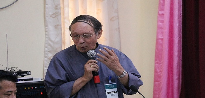 Mgr. Petrus Turang, Ketua Komisi Komsos KWI 2009- November 2015, anggota pengurus FABC-OSC.