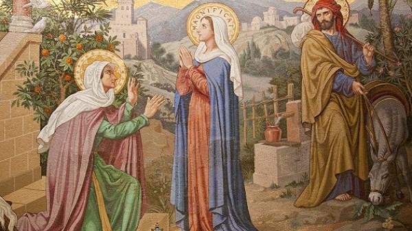 Maria mengunjungi Elisabeth Saudaranya, catatanseorangofs.wordpress.com