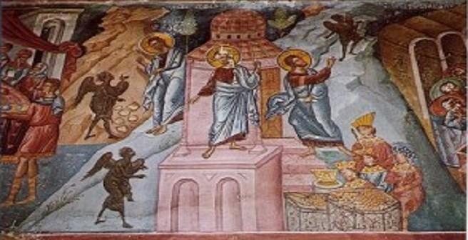 Yesus dicobai selama 40 hari di padang gurun, parokiarnoldus.net