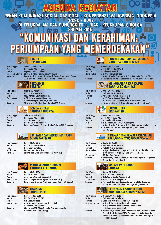 Agenda PKSN-KWI