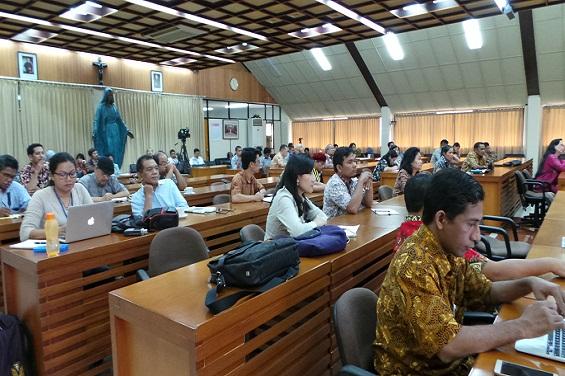 Peserta Seminar Pilkada Serentak 2017 di Aula Gedung KWI Jakarta,( Foto:Dok. Komsos KWI)