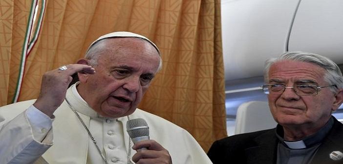 """Paus Sebut Jurnalisme Berdasar Rumor Merupakan """"Terorisme"""""""