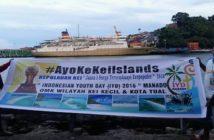 Perjalanan OMK Kei Kecil dan Kota Tual menuju Manado/ Foto: Natalis K. Leisubun