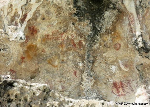 Situs purbakala di gua Luvat