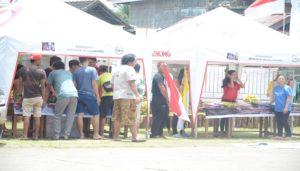 Aktivitas orang muda di sektar Media Center IYD 2016