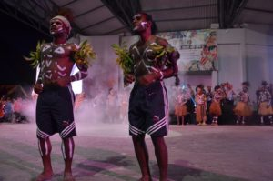Atraksi Budaya OMK Regio Papua Keuskupan Timika pada puncak IYD 2016 di Manado (3)