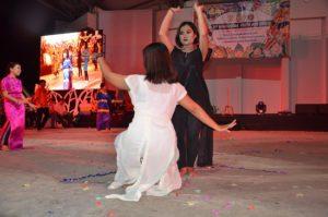 Atraksi budaya OMK Keuskupan Agung Samarinda (1)