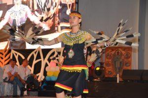 Atraksi budaya OMK Regio Kalimantan (2)