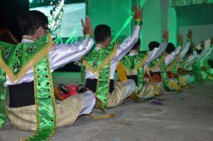 Atraksi malan buday OMK Keuskupan Purwokerto pada IYD 2016 di Manado (1)