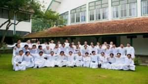 Para frater Seminari Tinggi St. Paulus Kentungan, Yogyakarta, Foto: Dokumentasi Seminari Tinggi St. Paulus Kentungan, Yogyakarta