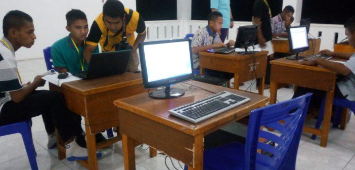 Semangat Para Seminaris Sinar Buana Belajar Menulis