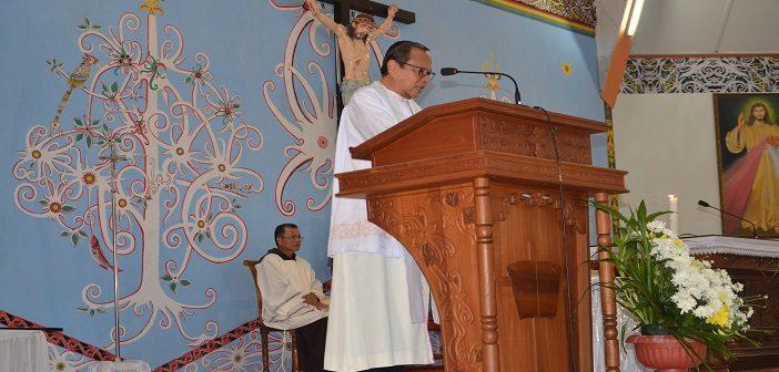 Ibadah Agung Tahbisan Mgr. Samuel Oton Sidin, OFM.Cap