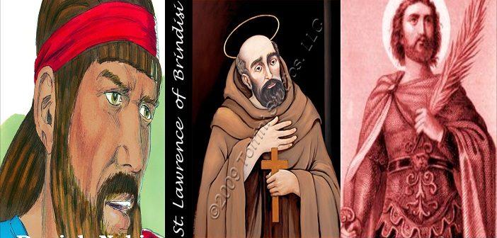 Santo-Santa Kita, 21 Juli: Daniel, Nabi; Santo Laurensius Brindisi, Pujangga Gereja & Santo Viktor dari Marseilles, Martir