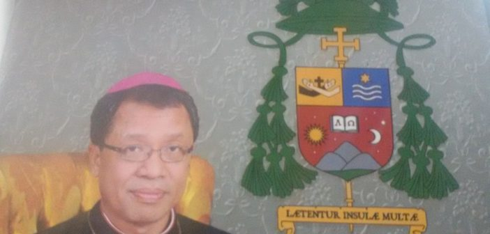 Ihwal Lambang Uskup Pangkalpinang, Mgr. Adrianus Sunarko, OFM