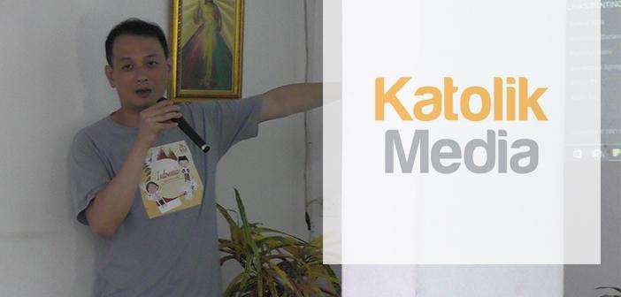 Admin @katolikmedia Bagikan Tips Viralkan Media Pewartaan
