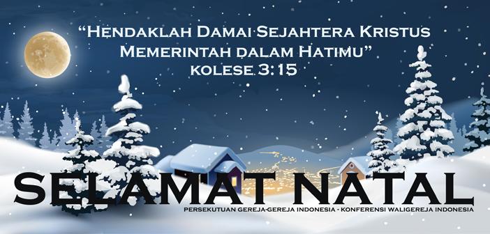 Pesan Natal Bersama PGI dan KWI