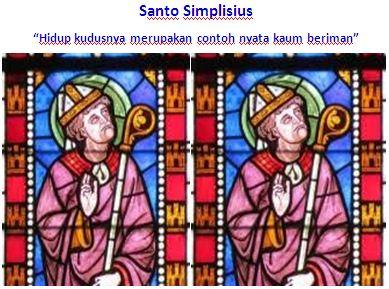 Santo Simplisius