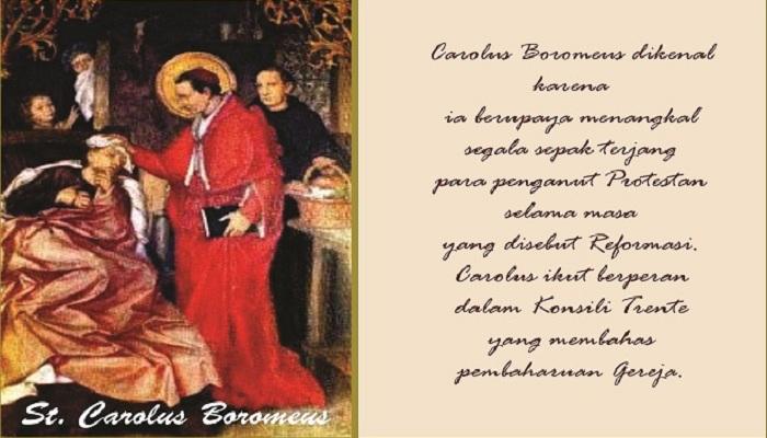 04 November, katekese, Komsos KWI, Konferensi Waligereja Indonesia, KWI, Para Kudus di Surga, Santo Martin de Porres, santo santa, teladan kita