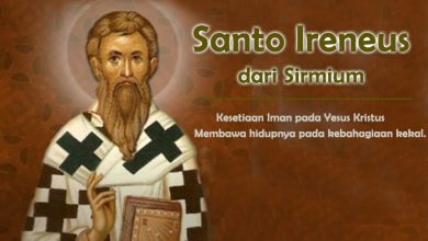 06 April, katekese, Komsos KWI, Konferensi Waligereja Indonesia, KWI, Para Kudus di Surga, Santo Isidorus, Santo Ireneus dari Sirmium, Santo Vincentius Ferrer, santo santa, teladan kita