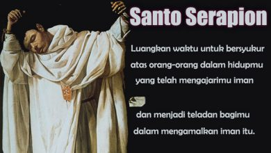 21 Maret, katekese, Komsos KWI, Konferensi Waligereja Indonesia, KWI, Para Kudus di Surga, Santo Serapion, Santo Anselmus Lucca, Santo Cuthbert, santo santa, teladan kita