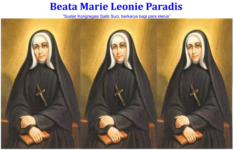 Beata Marie Leonie Paradis / Ilustrasi