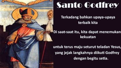 08 November, katekese, Komsos KWI, Konferensi Waligereja Indonesia, KWI, Para Kudus di Surga, Santo Hilarion, santo santa, teladan kita