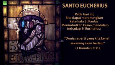 20 Februari, Santo Eucherius dari Orleans, Santo Konradus dari Piacenza, katekese, katolik, Komsos KWI, Konferensi Waligereja Indonesia, KWI, Para Kudus di Surga, putera allah, santo santa, Sukacita, teladan kita