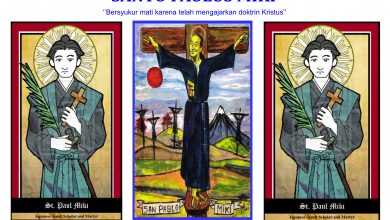 06 Februari, katekese, Komsos KWI, Konferensi Waligereja Indonesia, KWI, Para Kudus di Surga, Santo Paulus Miki, Santa Agatha santo santa, teladan kita