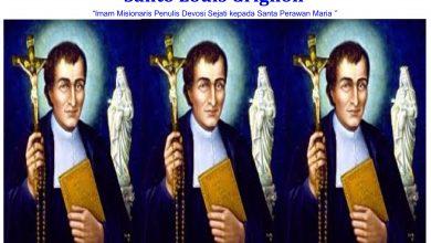 Santo Louis Grignon/ Ilustrasi