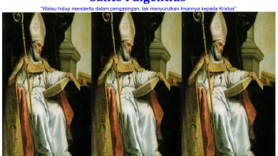 Santo Fulgensius dari Ruspe/ ilustrasi