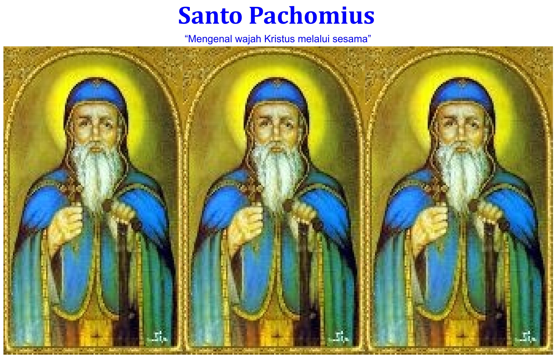 Santo Pachomius / Ilustrasi