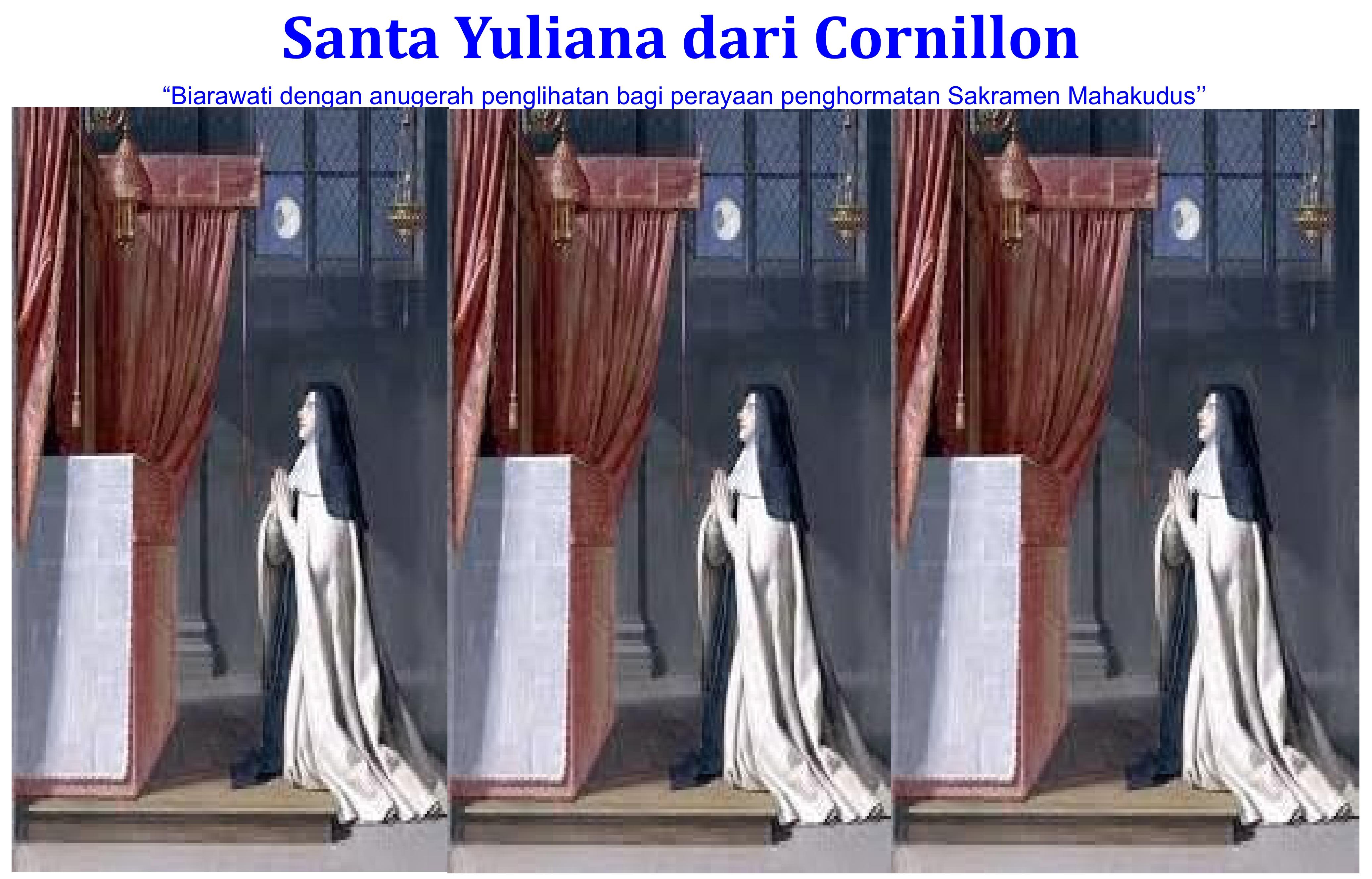 Santa Yuliana dari Liege