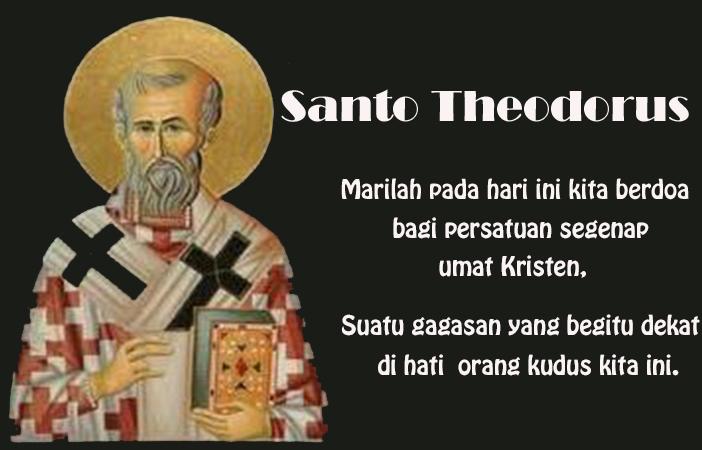 09 November, katekese, Komsos KWI, Konferensi Waligereja Indonesia, KWI, Para Kudus di Surga, Santo Hilarion, santo santa, teladan kita