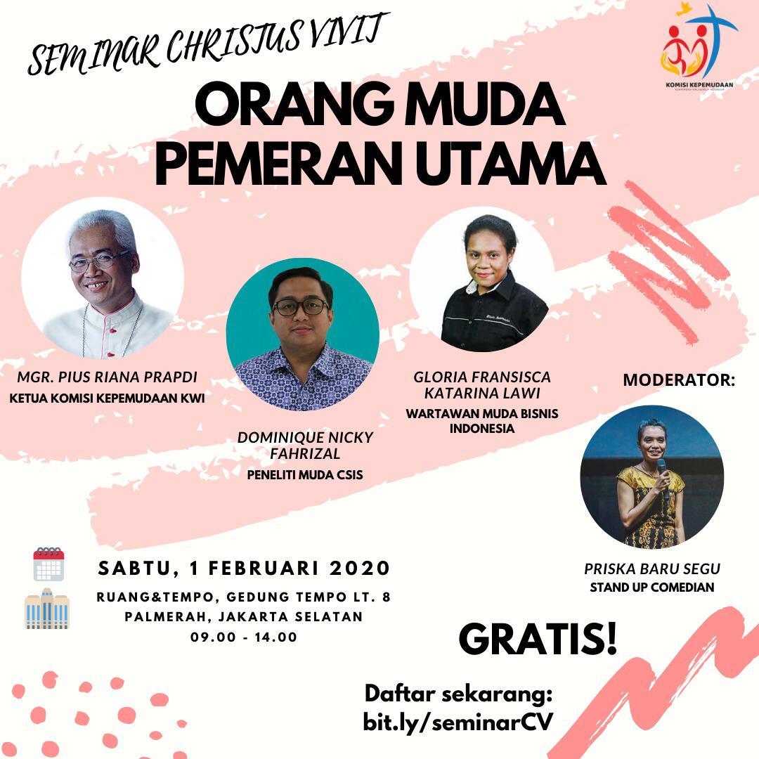 01 Februari, Orang Muda Katolik, Komkep KWI, Komsos KWI, Konferensi Waligereja Indonesia, KWI
